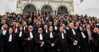 تونس: المحامون يحتجّون أمام مقر الحكومة