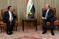 الرئيس العراقي يلتقي الطراونة