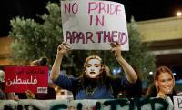 """علم فلسطين على منصة """"يوروفيجن"""" يغضب الإسرائيليين - صور"""