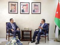 الطراونة يؤكد اهمية تطوير العلاقات الأردنية السورية