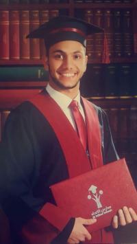 محمد عمايرة مبارك التخرج