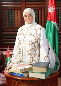 الدكتورة عليا العبادي مبارك الترقية