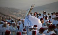 """فلسطينيون ينهون احتفالاتهم بعيد """"العُرش"""""""
