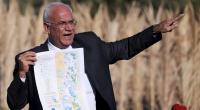 الرئاسة الفلسطينية تعلق على صحة عريقات