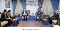 لجنة فلسطين النيابية تلتقي السفير التركي