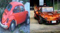 """في المنية ..  عائلة """"عيد"""" تُعيد الحياة للسيارات القديمة!"""