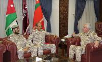 بحث تعاون عسكري بين الأردن وقطر