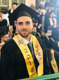 الزميل عبدالله سعدالدين مبارك التخرج