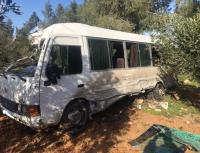 7 اصابات بحادث تصادم في مادبا