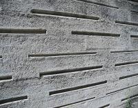انهيار جدار اسمنتي لمدرسة بعجلون
