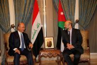 الرزاز يلتقي الرئيس العراقي