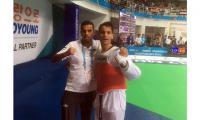 أبو غوش يتأهل للدور قبل النهائي ببطولة العالم للتايكواندو