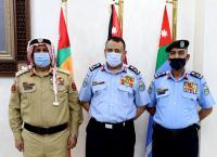 الأمن يكرم ضباط متقاعدين برتبة لواء