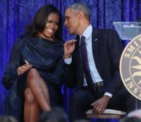 باراك وميشيل أوباما إلى هوليوود بأول فيلم لهما - فيديو