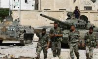 الجيش السوري يستعيد مواقعه في شرق دمشق