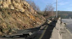 اعادة فتح طريق اربد عمان بعد اغلاقه لساعات
