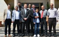 حملة الدكتوراه المتعطلين عن العمل يزورون جامعة العلوم والتكنولوجيا