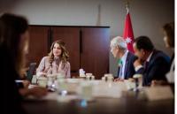 الملكة تترأس الاجتماع السنوي لمجلس أمناء جمعية جائزة الملكة رانيا