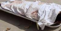 ابن يقتل والده ويدفن جثته في قالب أسمنتي
