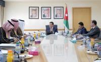 الطراونة يستقبل السفير السعودي لدى الأردن