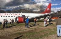 إصابة 26 شخصا بتحطم طائرة ركاب غربي البيرو