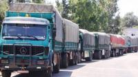 إلغاء رسم المرور على الشاحنات السورية