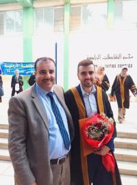 قصي سلامة مبارك التخرج من الجامعة الأردنية