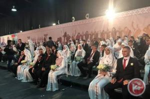 زفاف جماعي لـ 400 عريس فلسطيني في لبنان - صور