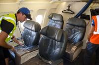 الاجراءات بحال وفاة مسافر في الطائرة