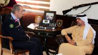 لقاء بين الحمود ومدير أكاديمية شرطة دبي