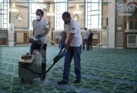 تواصل الاستعدادات لتجهيز المساجد