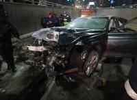 وفاة بحادث تصادم على طريق المطار