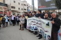 اعتصام في الخليل تضامنا مع الاسيرات في سجون الاحتلال