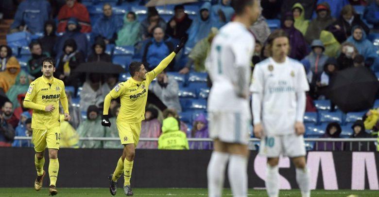 فياريال يذبح زيدان وينتصر على ريال مدريد بهدف نظيف في البرنابيو