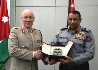 الحواتمة يستقبل كبير مستشاري وزارة الدفاع البريطانية للشرق الأوسط