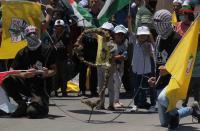 15 إصابة برصاص الاحتلال خلال مسيرة بالضفة