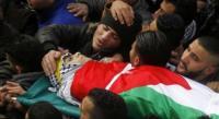 استشهاد 44 فلسطينياً الشهر الماضي