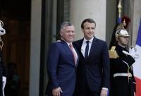 الرئيس الفرنسي يعزي الملك بشهداء الواجب