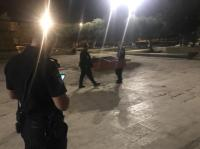 شرطة الاحتلال تقتحم مصلى باب الرحمة