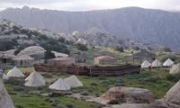 الشتاء يغلق مخيم الرمانة بوجه السياح