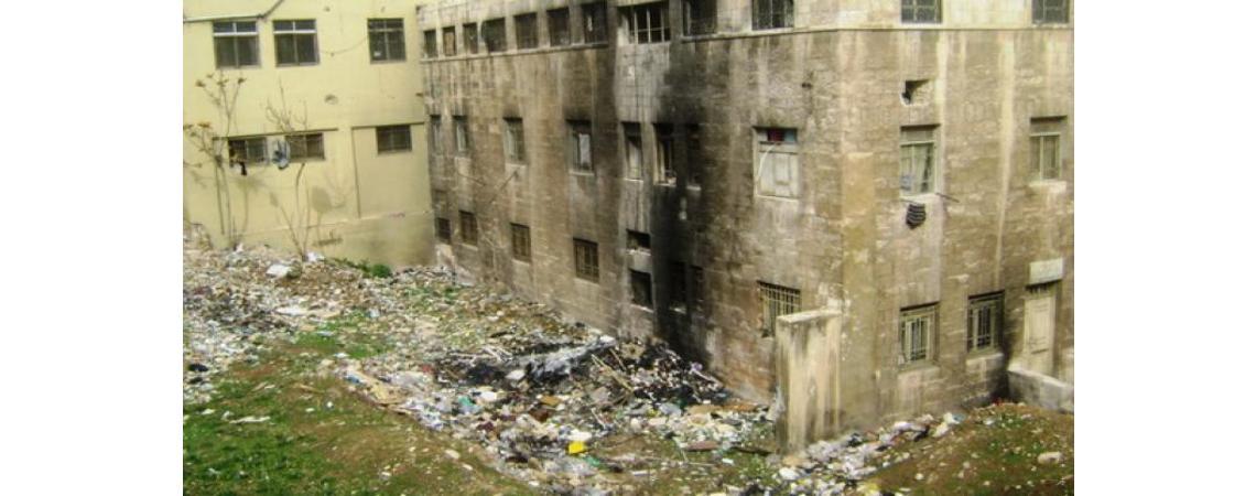 البدء بإزالة مباني عمان المهجورة
