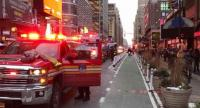 اصابة شخص بجروح في نيويورك جراء انفجار حزام ناسف كان يحمله