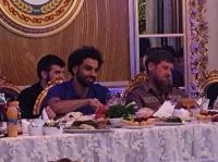 رئيس الشيشان يكرم محمد صلاح