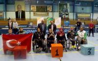 منتخب كرة الطاولة لذوي الإعاقة يشارك ببطولة بولندا الدولية