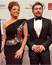 عابد فهد وزينة اليازجي يحتفلان بعيد زواجهما - صور