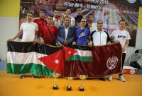 10 ميداليات لكراتيه الدرك ببطولة مرمرة الدولية