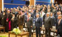 الملك يلتقي رجال دين وشخصيات مسيحية من الأردن والقدس