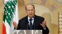 الرئيس اللبناني يدعو أمريكا للمساعدة بعودة النازحين السوريين