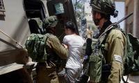الاحتلال يعتقل 9 فلسطينيين بالضفة
