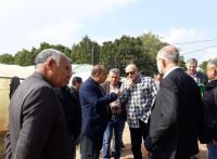 مشاريع زراعية بوادي الاردن لتحسين كفاءة مياه الري